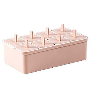 8 Removable Square Popsicle Ice Molds
