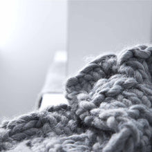 Load image into Gallery viewer, Soft, cozy blanket throw to curl up with your favorite book or a hot beverage and for braving the chilly seasons.