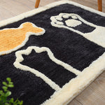 Decorate and furnish with our selection of floor mats and door mats for your home decor. Floor mat has an anti-slip to prevent sliding around.