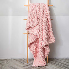 Load image into Gallery viewer, You'll love this super-soft feel throw to curl up with your favorite book or a hot beverage and for braving the chilly seasons.decke