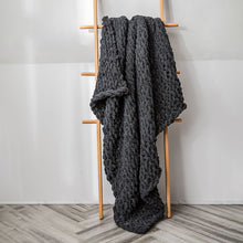 Load image into Gallery viewer, You'll love this super-soft feel throw to curl up with your favorite book or a hot beverage and for braving the chilly seasons. decke