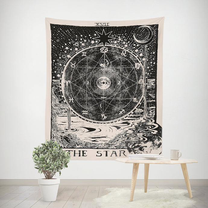 Hang it on walls, drape them on beds or divide a room. Tapestry is perfect for your living room, bedroom, or dorm.