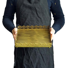 Lade das Bild in den Galerie-Viewer, Rustic Gold Lace Tray