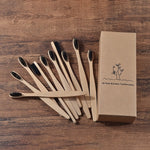 Bamboo Toothbrush, Pack of 10