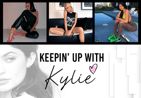 Keepin' Up with Kylie: Her Hawtest Shoes!