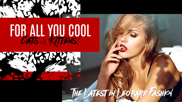 For All You Cool Cats & Kittens | The Latest in Leopard Fashion - FlashyBox