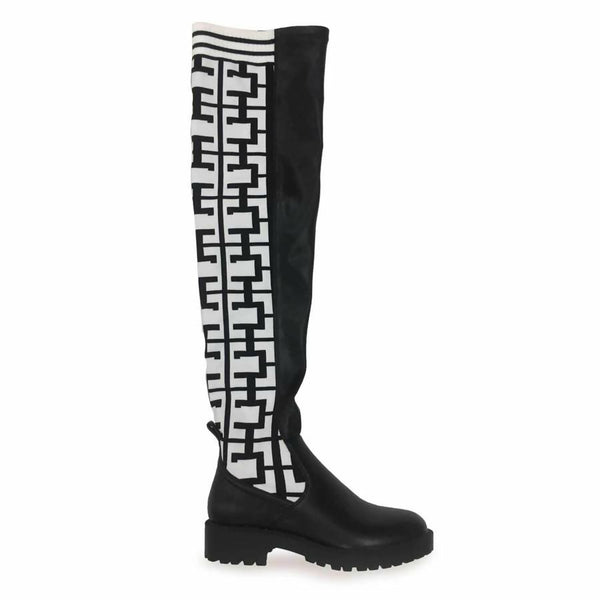Cape Robbin Sneaker thigh high boots available on Flashybox.com