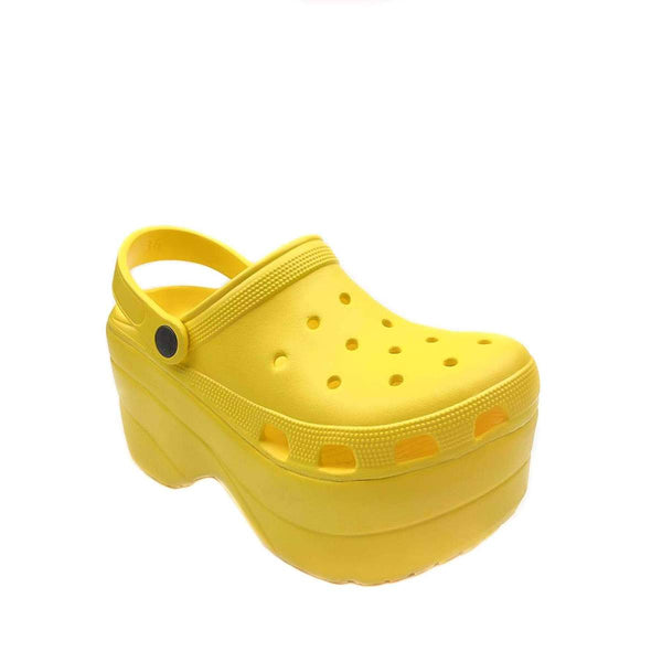 Cape Robbin Gardener Sandal in Yellow available on FlashyBox.com