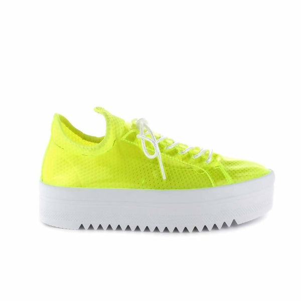 Cape Robbin Bon Bon Neon Sneakers for Women available on Flashybox.com