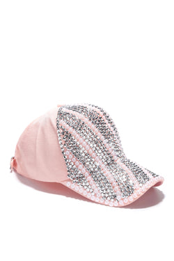 BUY ME JEWELS HAT-PINK