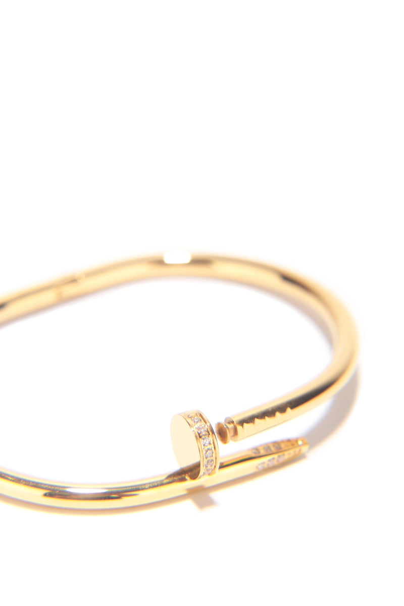 JUST RIGHT BRACELET-GOLD