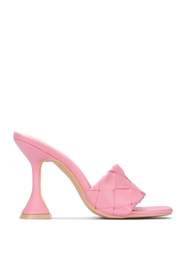 AFFECTION AND LOVE HEELED SANDAL-PINK
