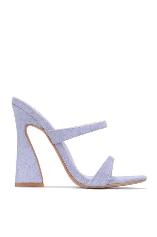 ANOTHER LOVER HERE BLOCK HEELS-LILAC