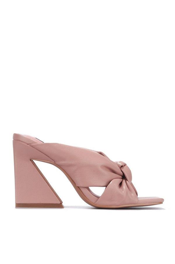 ANNI AM TELLING YOU BLOCK HEELS-BLUSH