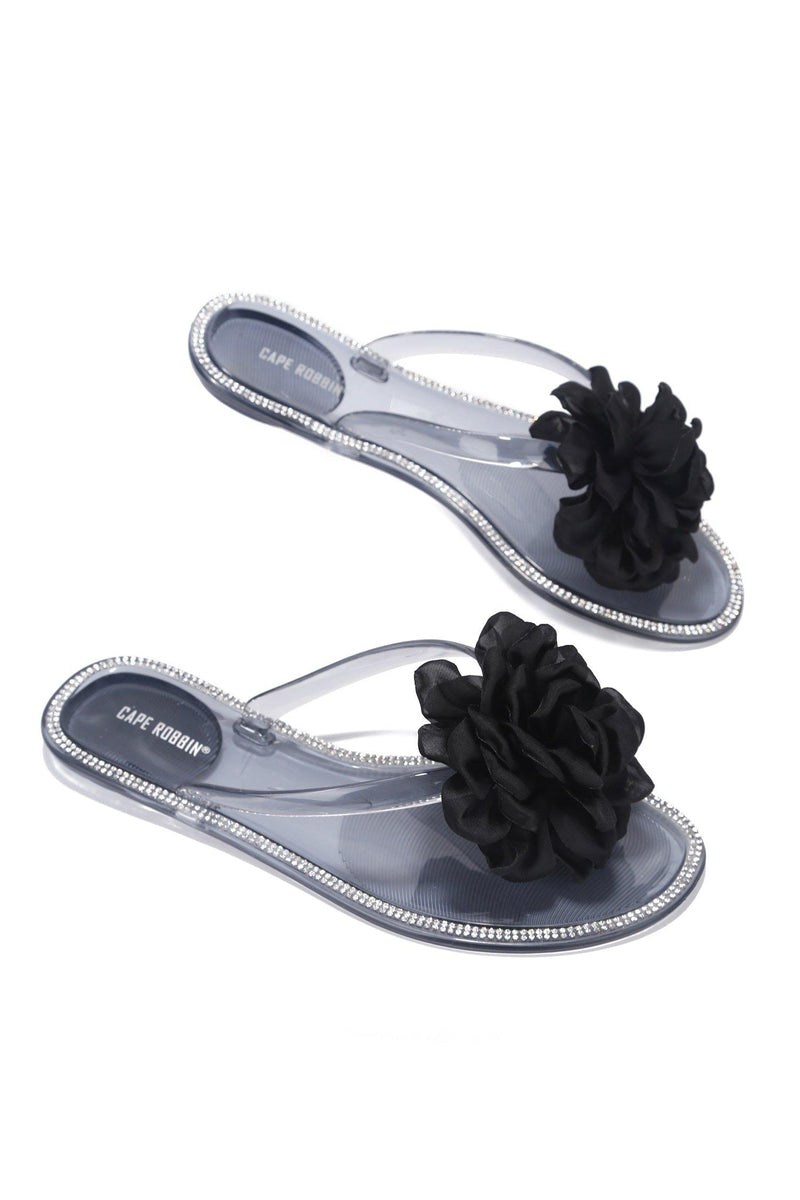 ABINA LOOK AT ME SANDAL-BLACK