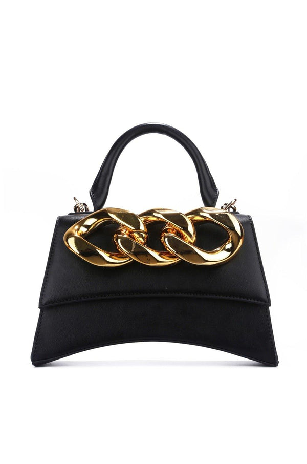 QUESTION WHO'S THE QUEEN PURSE-BLACK