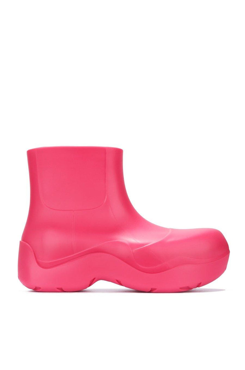 RAINDROPS DROP TOPS RAIN BOOTS-PINK