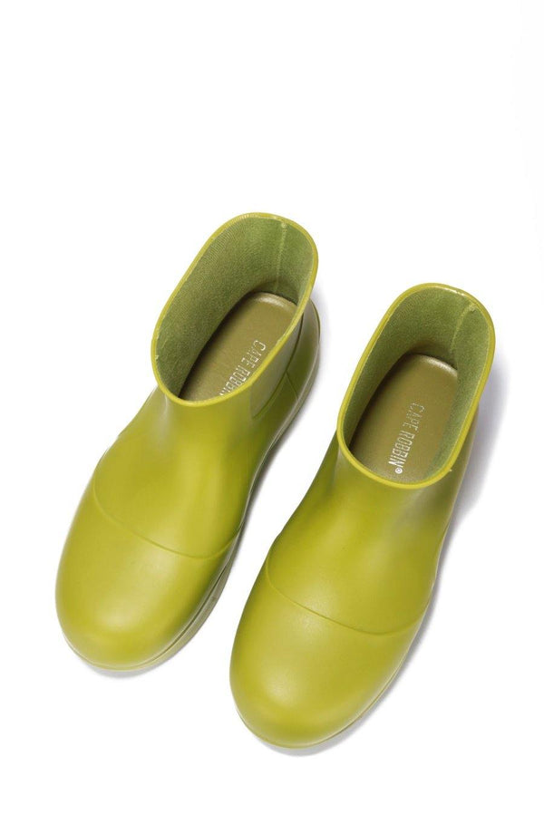 RAINDROPS DROP TOPS RAIN BOOTS-GREEN