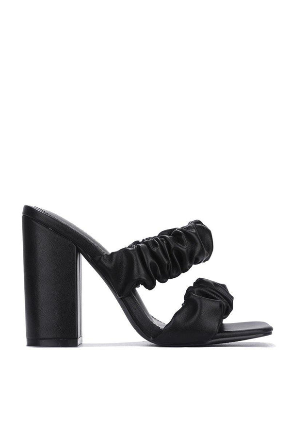 RIEDEL RIDIN HIGH BLOCK HEELS-BLACK