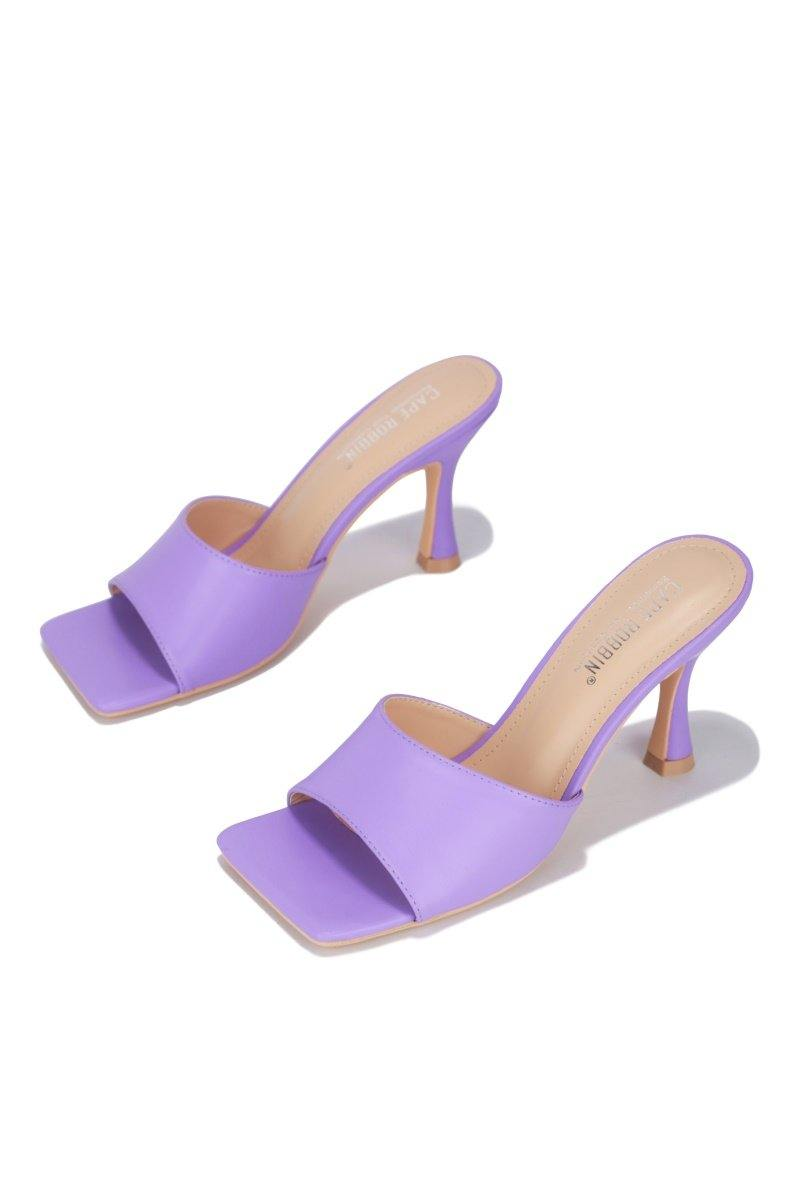 TOWN SQUARE CITY WALK HEELS-LAVENDER