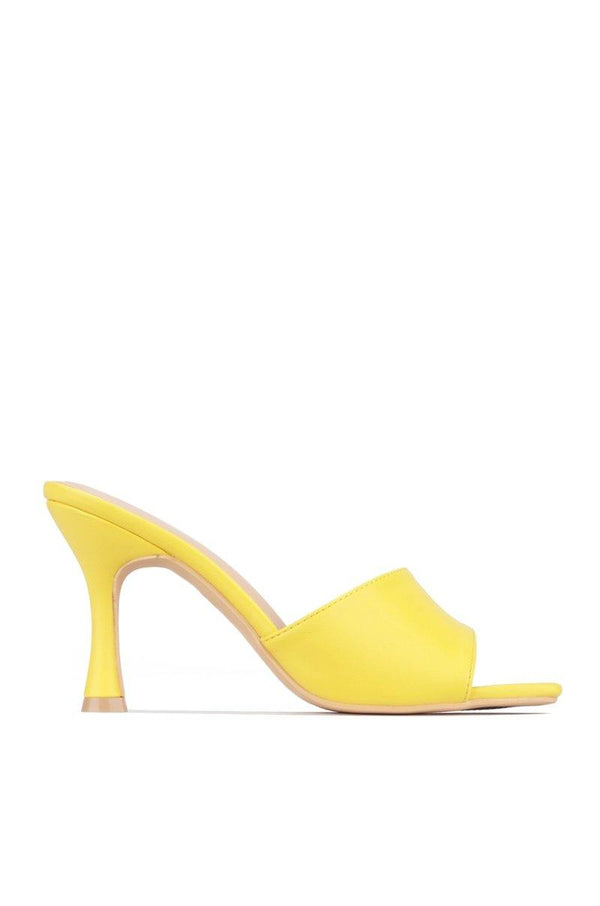 TOWN SQUARE CITY WALK HEELS-YELLOW