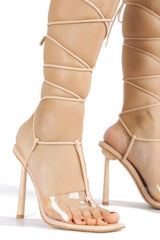 HOLI OUT OF OFFICE SANDAL HEELS-NUDE