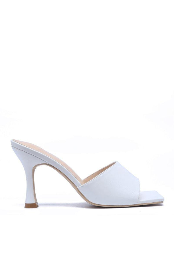 TOWN SQUARE CITY WALK HEELS-WHITE