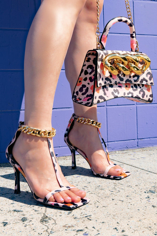 EVER IN YOUR FAVOR SANDAL HEELS-LEOPARD