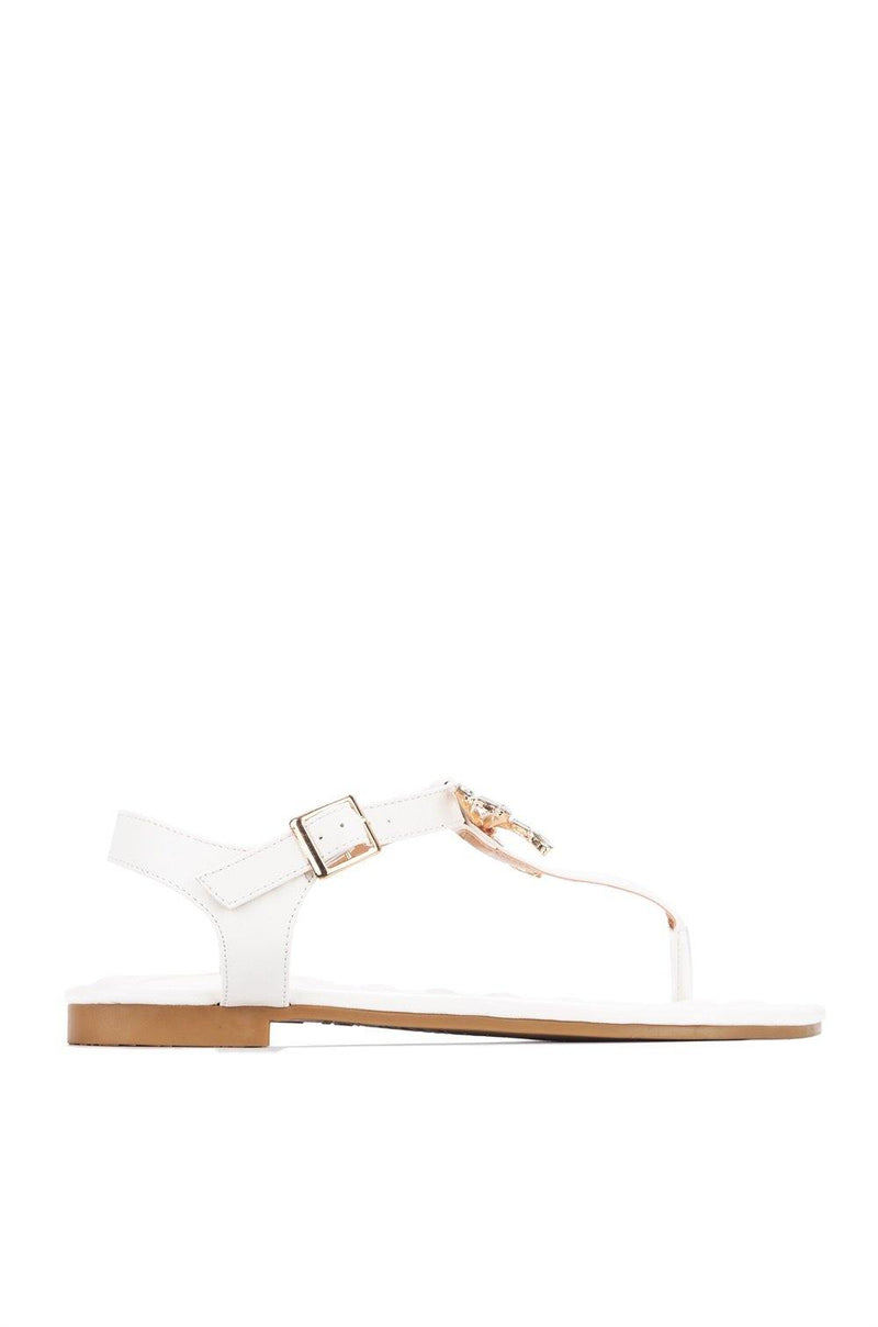 JOYA ENJOY YOURSELF SANDALS-WHITE