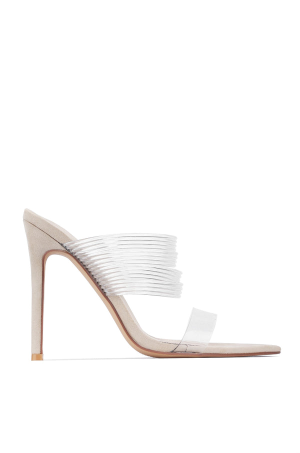 HESS VEGAS NIGHTS SANDALS-NUDE