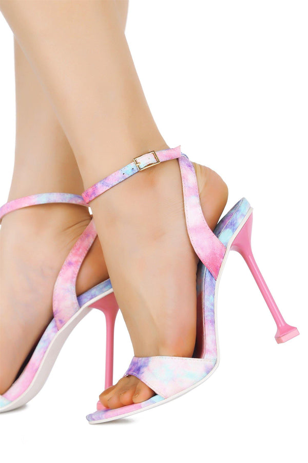 PORTIA IT'S A CELEBRATION TIE DIE HEELS-PINK