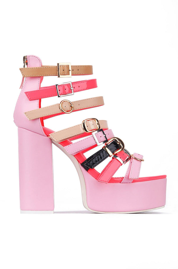 MIRACLE LITTLE SURPRISE HIGH HEELS-PINK