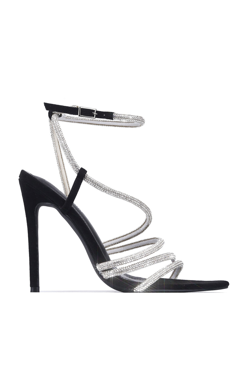 ELANOR OVER THE LIMIT HIGH HEEL-BLACK