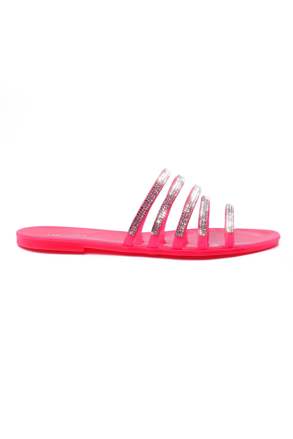 KAMARON CLEAR THE AIR SANDAL-PINK