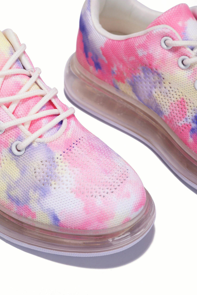 BURST MAKE MY WAY SNEAKER-LIGHT RAINBOW