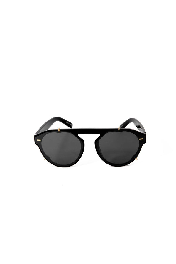 UNORTHODOX FASHION SUNGLASSES-BLACK