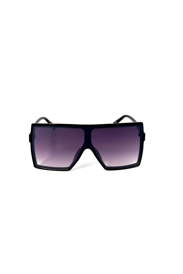 TINTED BIG EYE SUNGLASSES-BLACK