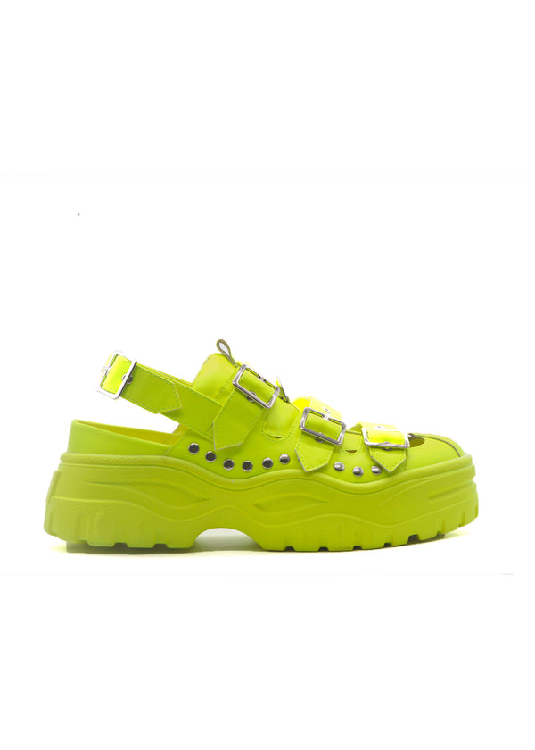CARDI SANDALS-LIME