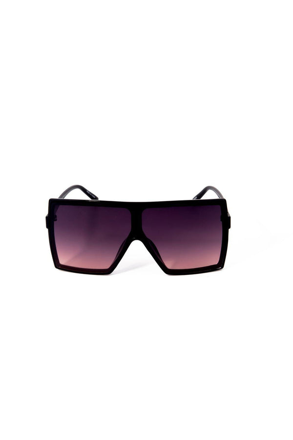 TINTED BIG EYE SUNGLASSES-TAN - FlashyBox