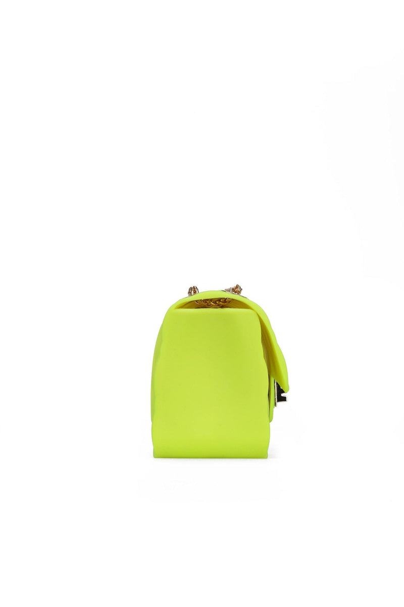 CYLESIAL JELLY GOLD CHAIN BAG-LIME - FlashyBox