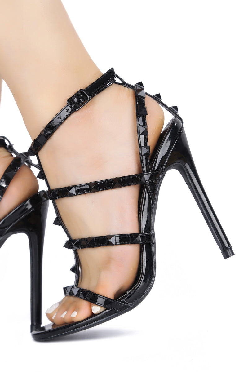 SNAPSHOT RED CARPET STILETTO-BLACK