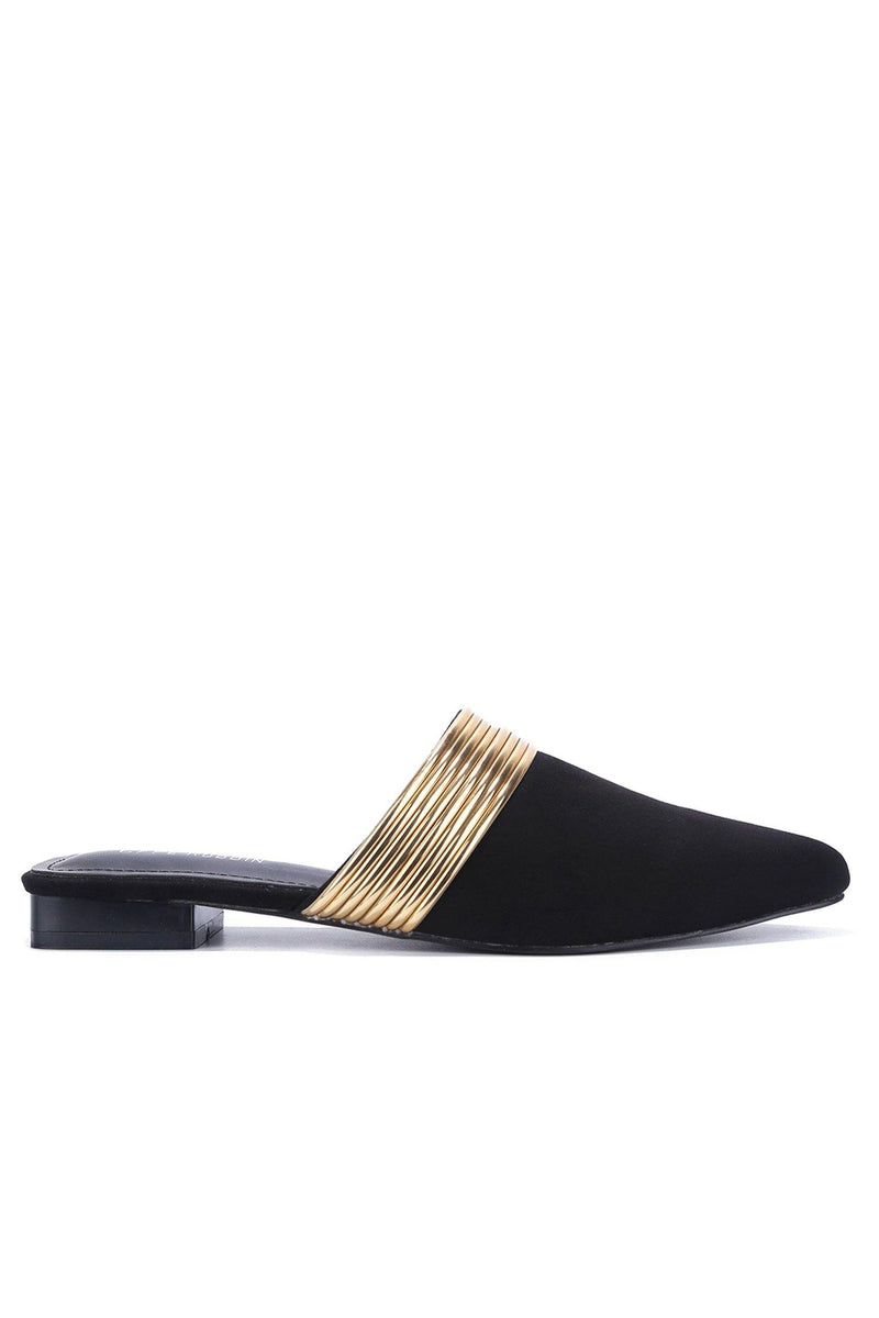 BOMIE BROADWAY SLIPPERS-BLACK
