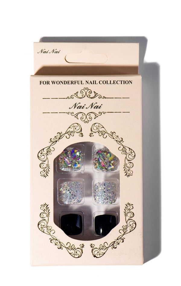 CALCY FASHION NAILS SET-MULTI - FlashyBox