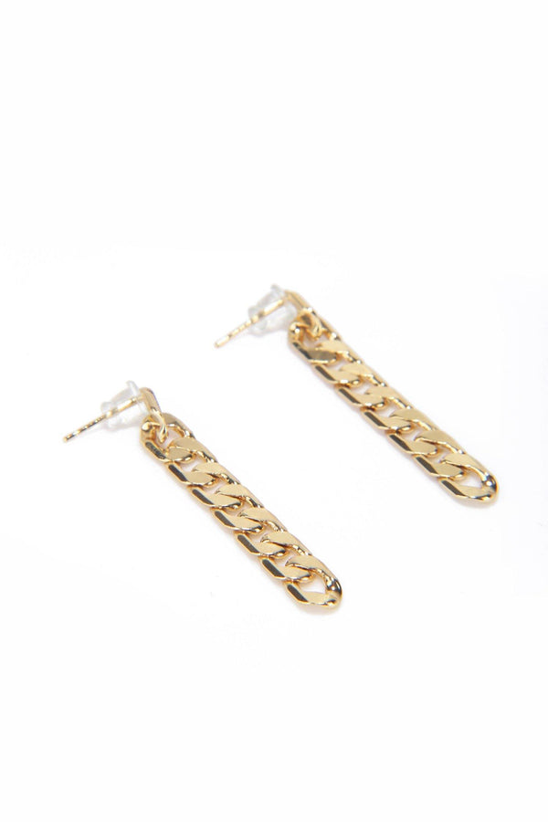 READ ALL ABOUT IT EARRINGS-GOLD