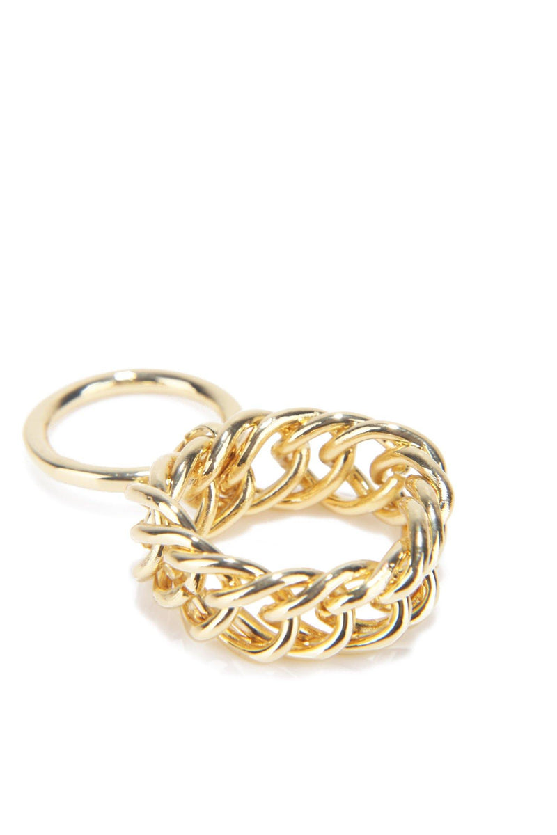 TEXTURE IN MY LIFE RING-GOLD