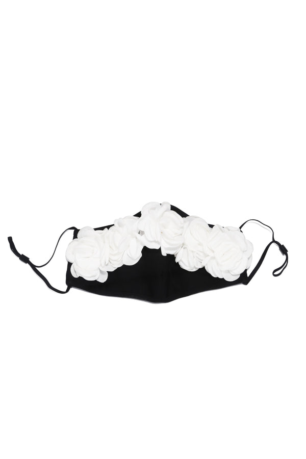 AMILA FACE MASK-BLACK WHITE