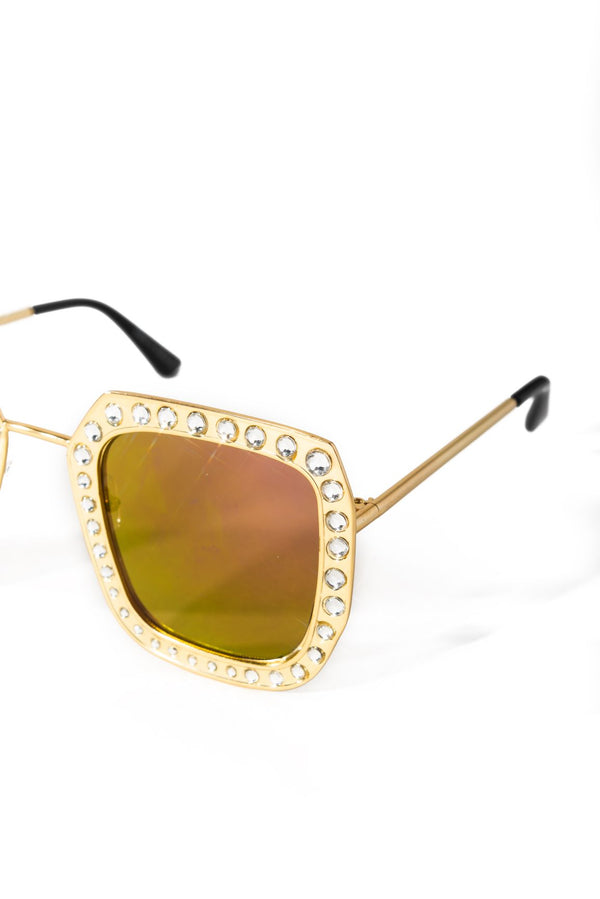 GOLDEN PARADISE SUNGLASSES-PURPLE - FlashyBox