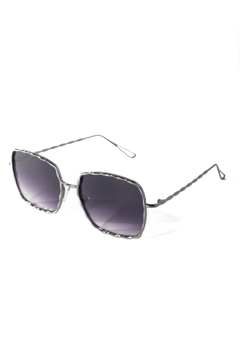 CLEARLY INTO YOU SUNGLASSES-GREY