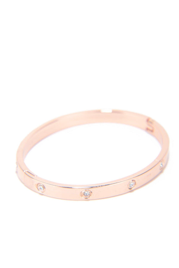 ROYAL ELEGANCE BRACELET-ROSE GOLD