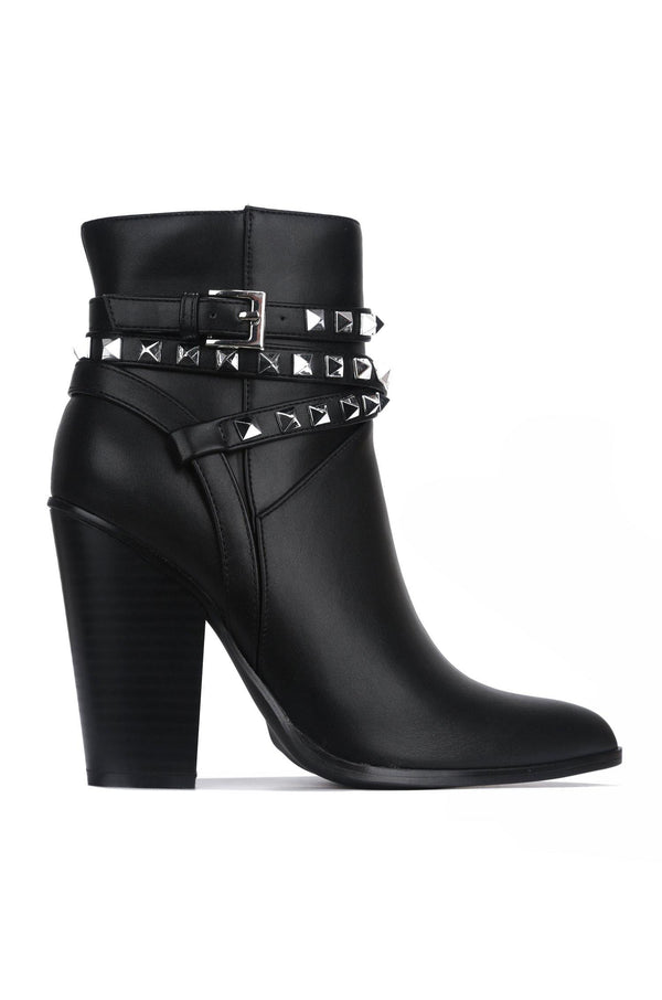 CLASSIC NO BACKING DOWN BOOTIES-BLACK
